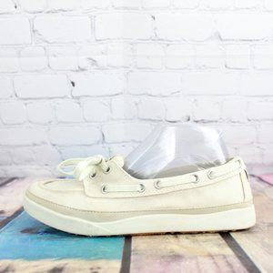 LL BEAN Casual Boat Loafers Flat Shoes Size 7.5 M
